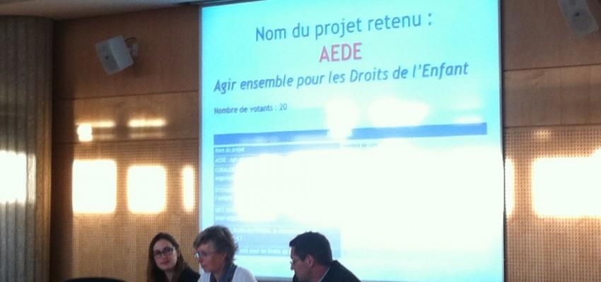 24 octobre 2013 – Signature officielle de la Charte d'AEDE