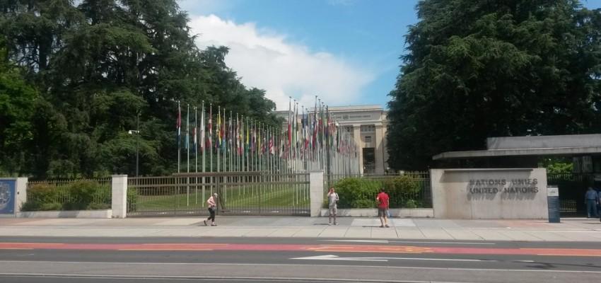 Juin 2015 – Présentation du rapport AEDE à Genève