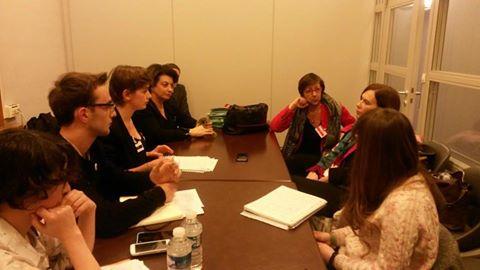 Interview de la Ministre Laurence Rossignol par les jeunes