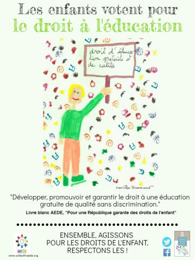1 mois 1 droit – Mars 3 : Droit à léducation