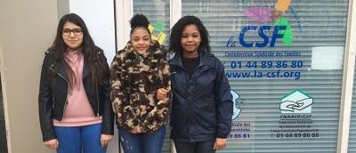 Des lycéennes membres de la CSF animatrices d'une radio de jeunes 1
